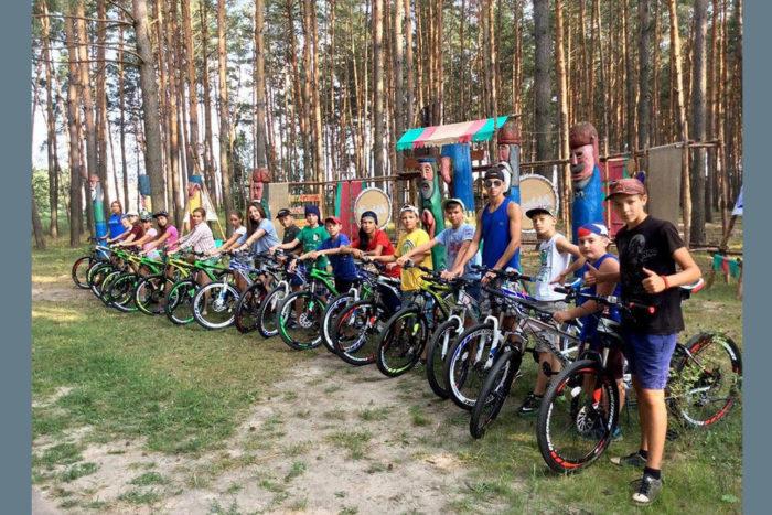 Детский палаточный лагерь ForestClub