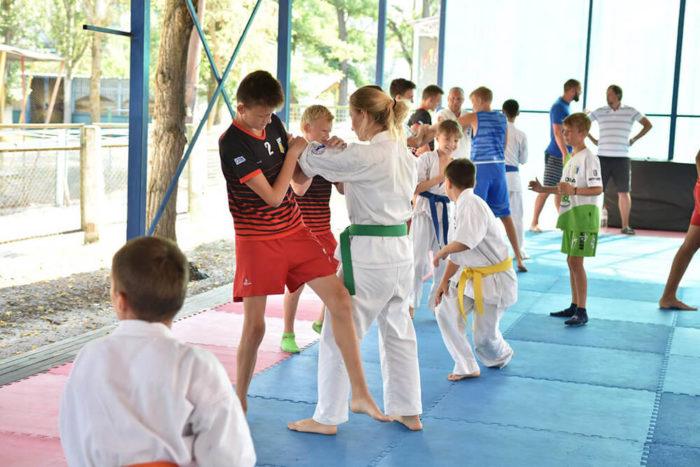 Детский спортивный лагерь Морская Волна