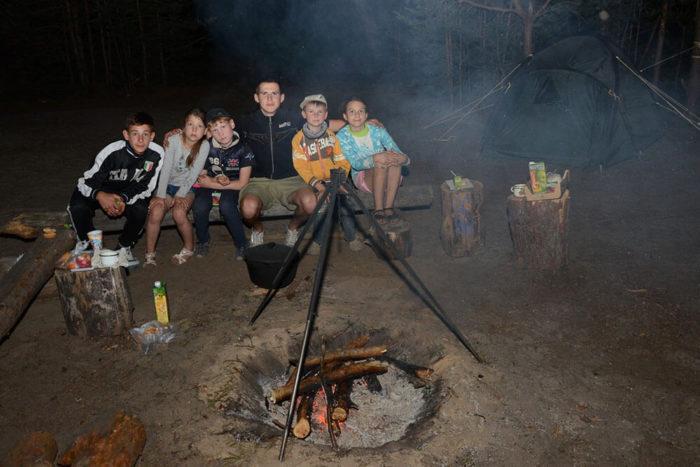 Детский туристический лагерь Шоколад