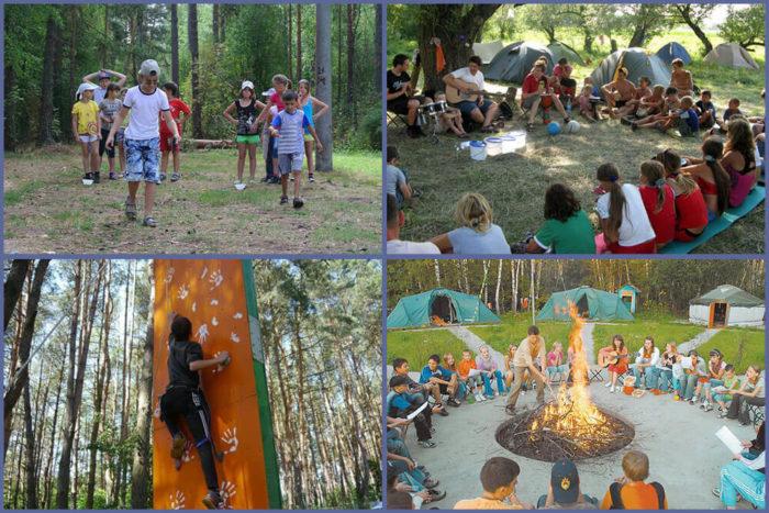 Детский палаточный лагерь Вытоки
