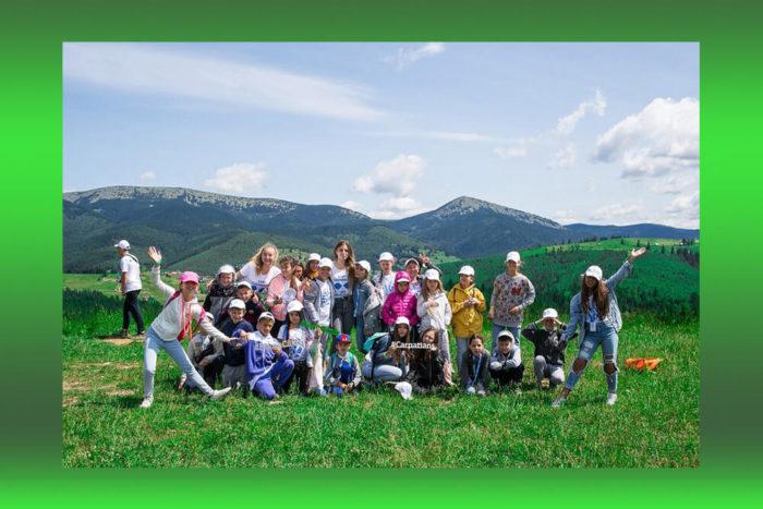 Детский англоязычный лагерь в Карпатах FAYNO CAMP - Yaremche