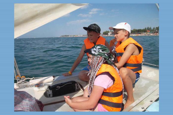 Детский спортивный лагерь ProfуCamp - Море