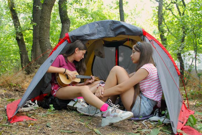 Летний палаточный лагерь Scoutland