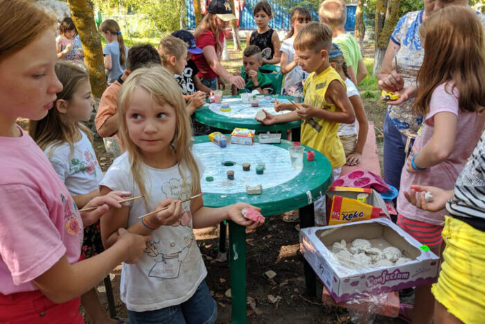 Детский лагерь на море - Солнечный