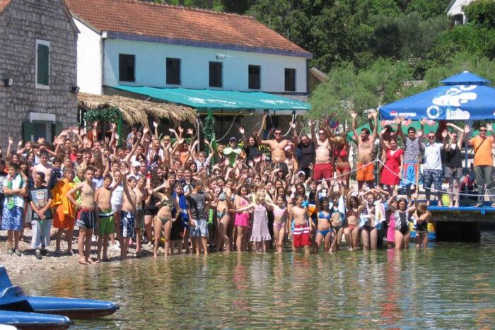 Английский лагерь в Хорватии